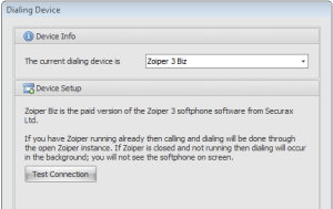 outbound calling with zoiper